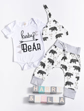 Baby bear harem pants set