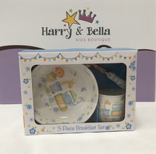 Blue Jungle Baby Breakfast Set