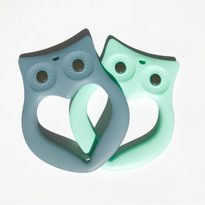 owl baby teether