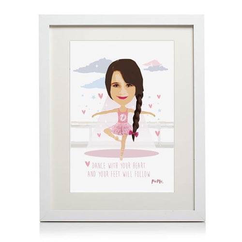 Ballet Themed Personalised Print