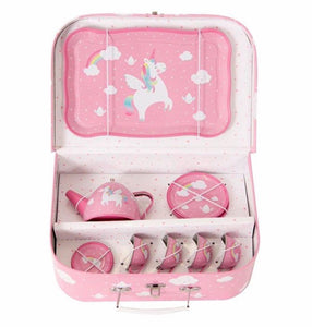 Rainbow Unicorn Picnic Box Teaset