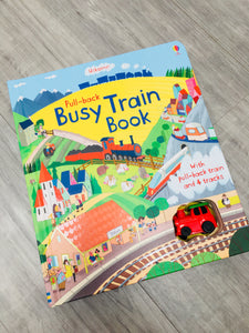 UsborneBusy Train Book