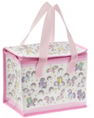 pink unicorn lunch bag