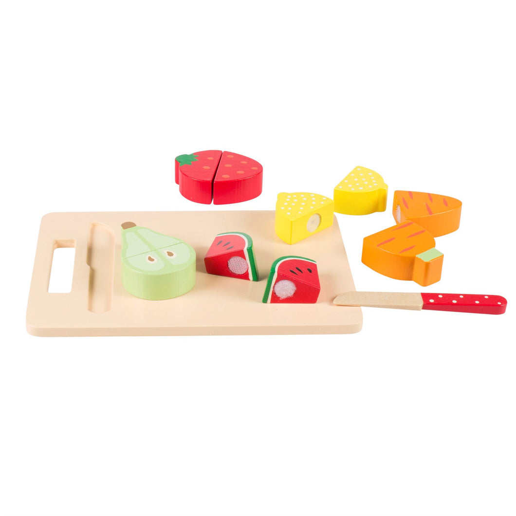 Wooden fruit & veg chopping board