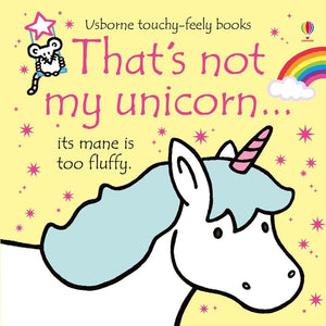 not my unicorn book