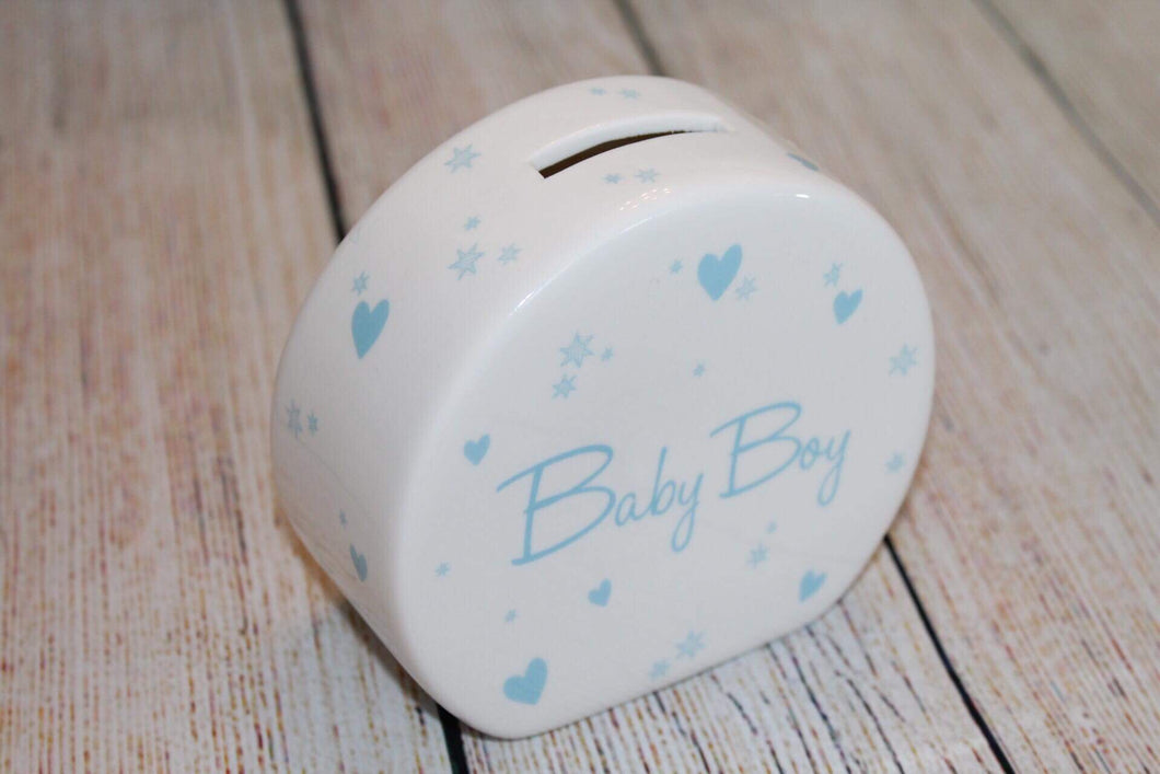 New Baby Boy Moneybox