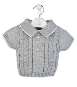 Spanish Design Boys Knitted Top & Shorts