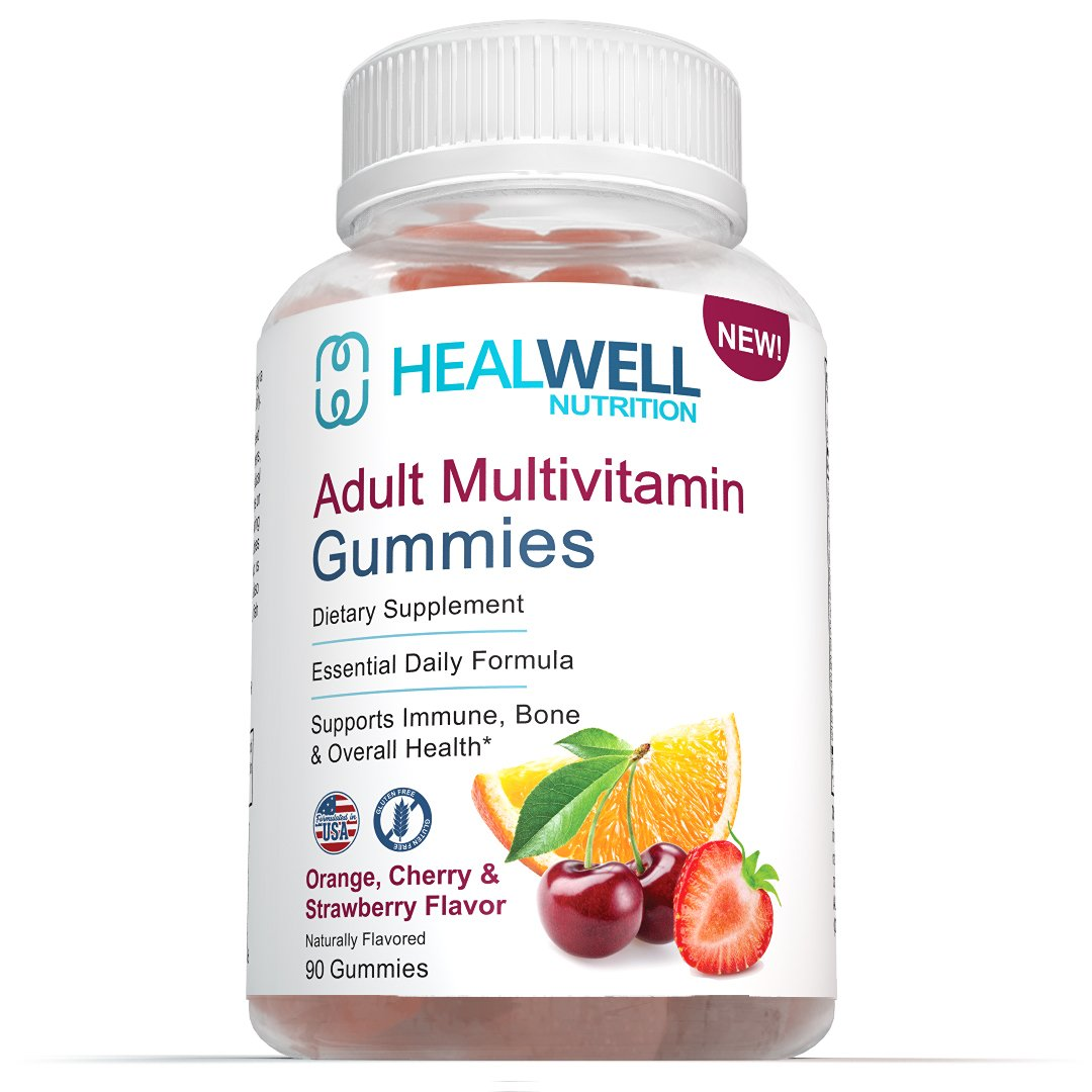 Adult Multivitamin Gummies -45 Day Supply