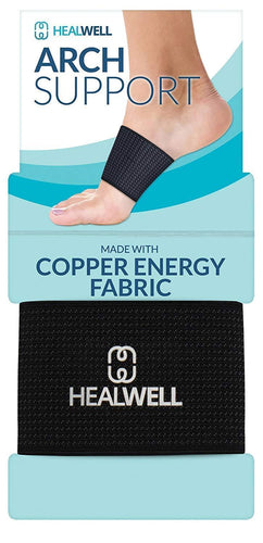 Healwell Arch Support Plantar Fasciitis Sleeve (2 Pack)