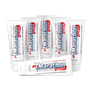 Marathon Cream - All Natural Muscle Pain Relief