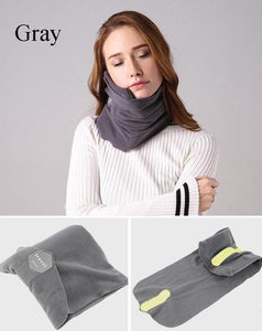 Neck Travel Fleece Pillow