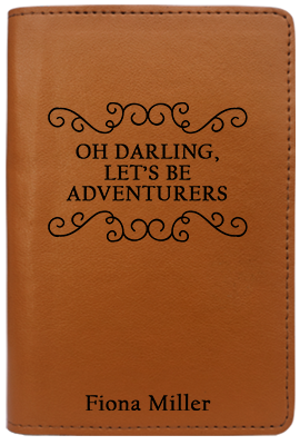 Oh Darling Lets Be Adventurers (Passport Holder)