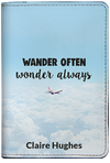 Wander Often Wonder Always (Passport Holder)