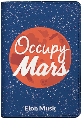 Occupy Mars (Passport Holder)