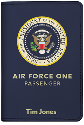 Air Force One (Passport Holder)