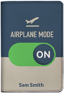Airplane Mode (Passport Holder)