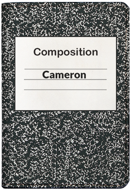 Composition Book (Passport Holder)