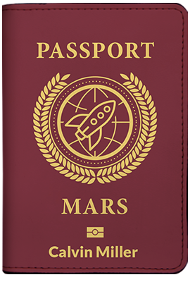 Passport Mars (Passport Holder)