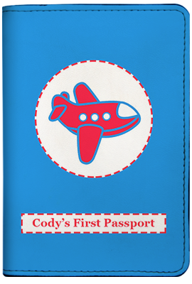 First Passport - Blue (Passport Holder)