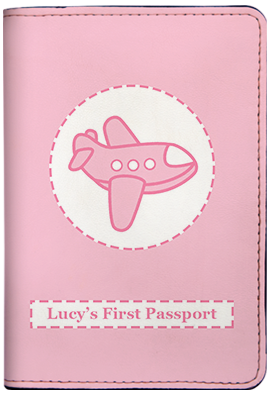 First Passport - Pink (Passport Holder)