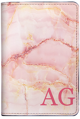 Marble Monogram (Passport Holder)