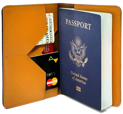 Little By Little One Travels Far (Passport Holder)