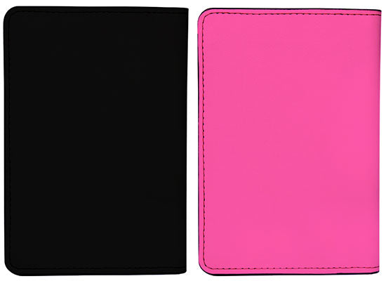 Hubby & Wifey (Passport Holder) - Set of 2