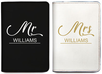 Mr & Mrs (Passport Holder) - Set of 2