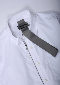 Beautilities Utility Zip Shirt White