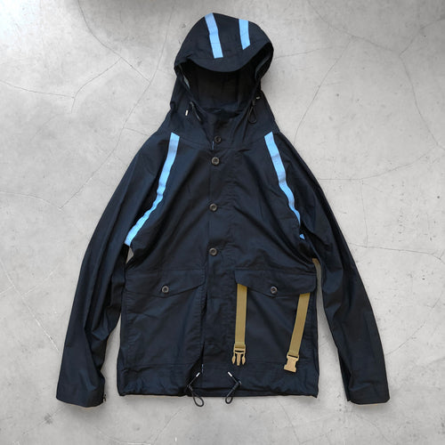 Nigel Cabourn Aircraft Taped Packaway Jacket Navy