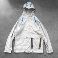 Nigel Cabourn Aircraft Taped Packaway Jacket White