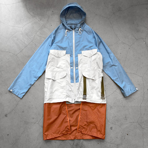 Nigel Cabourn Packaway Cameraman Jacket Blue White