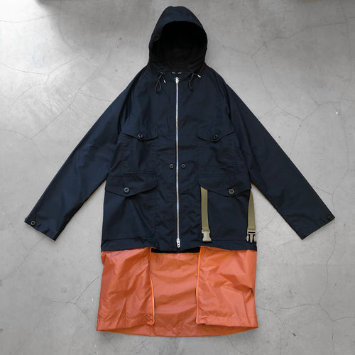Nigel Cabourn Packaway Cameraman Jacket Black Navy