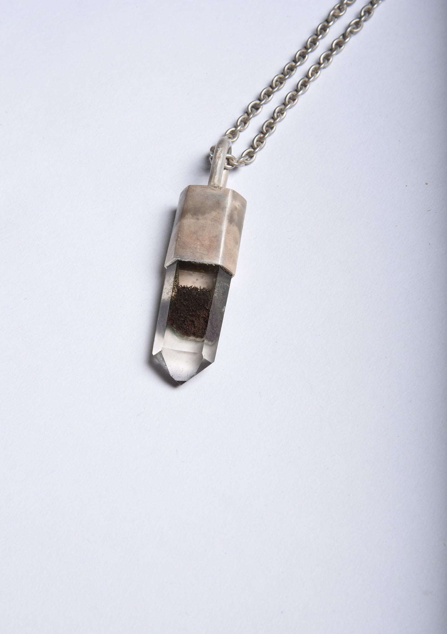 Parts of Four Talisman Necklace SPECIMEN (Inclusion Quartz, DA+Q)