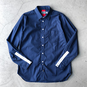 Beautilities Utility Zip Shirt Navy V2