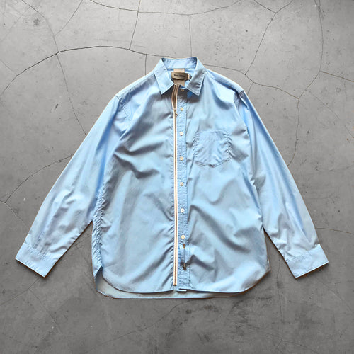 Beautilities Utility Zip Shirt Light Blue
