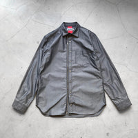 Beautilities Utility Zip Shirt Dark Grey