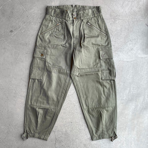 Nigel Cabourn 40s Mountain Army Pants Dark Green