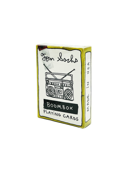 Tom Sachs Playing Cards Boombox Deck