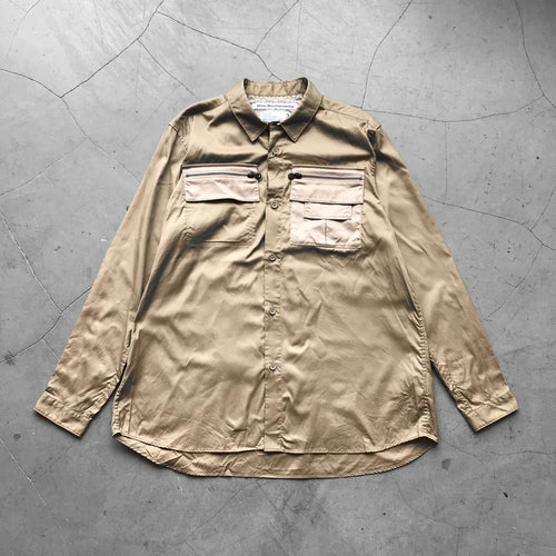 White Mountaineering OX Zipped Shirt