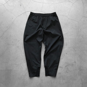 White Mountaineering Easy Wide Tapered Pants Black