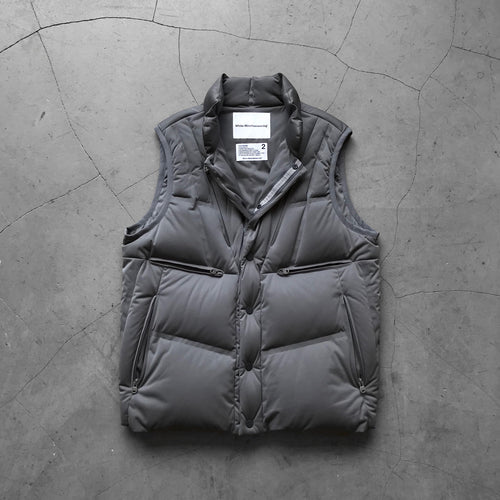 White Mountaineering Seamless Down Jacket Grey