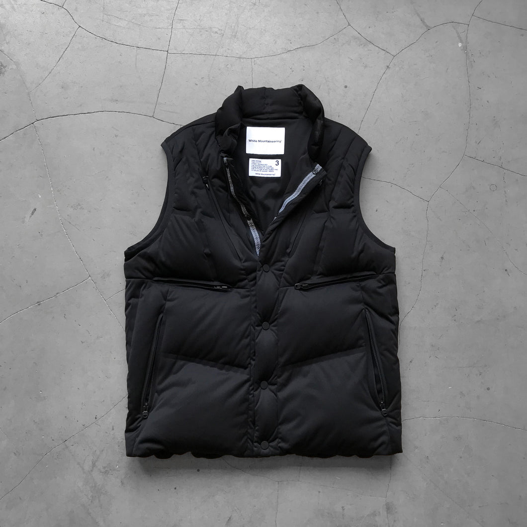 White Mountaineering Seamless Down Jacket Black
