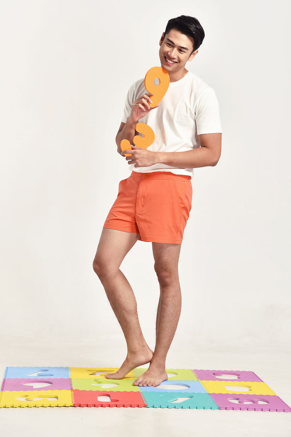 SwimShort Orange