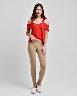 The Essential Legging Hazelnut
