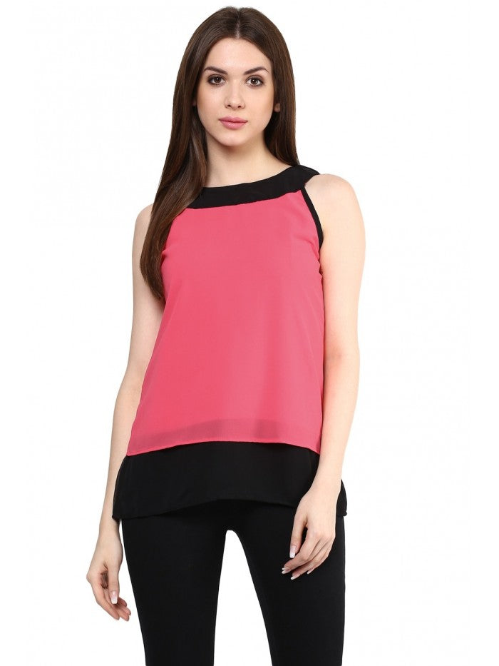 Mayra Candy Colour blocked Top | Znx4ever.com