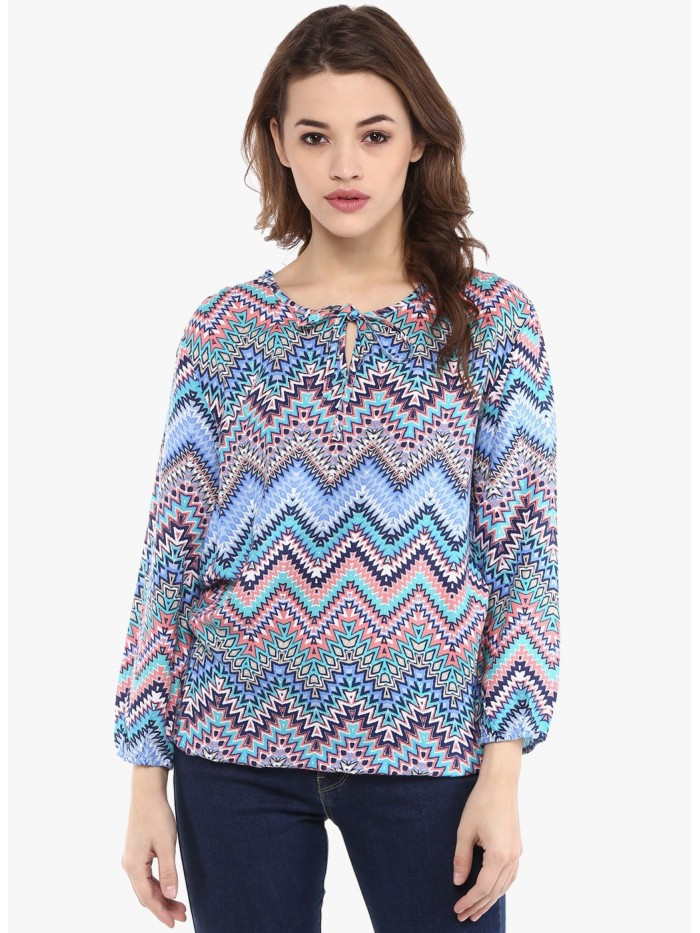 Mayra Multi Colour Printed Top | Znx4ever.com