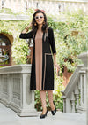 Copper & Black Kurti | Znx4ever.com