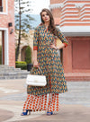 Kajal Style block Printed Cotton Kurti | Znx4ever.com