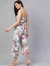 Tropical Printed Jumpsuit (Fully Stitched) | Znx4ever.com